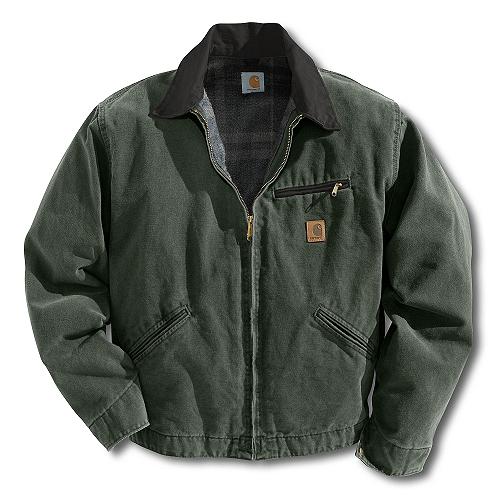 Carhartt Style Men�s Sandstone Detroit Jacket/Blanket Lined J9700